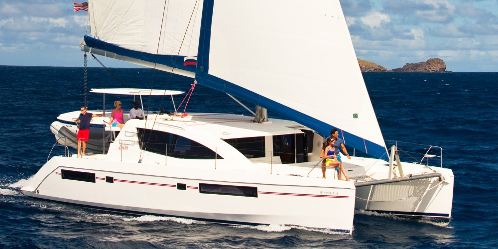 Hire Catamaran with or without skipper Leopard Port Louis Marina
