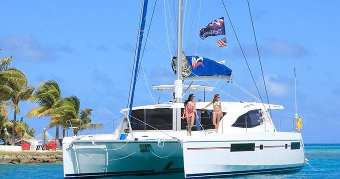 Rental Catamaran in Marsh Harbour - Leopard Moorings 4800