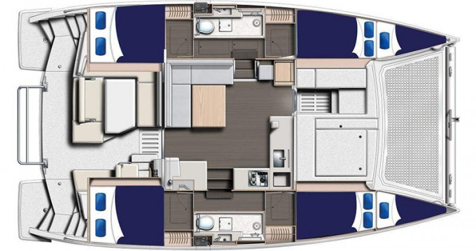 Rental yacht Eden Island - Leopard Moorings 4000/3 on SamBoat