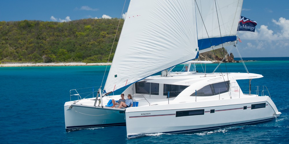 Leopard Moorings 4800 between personal and professional St. George's