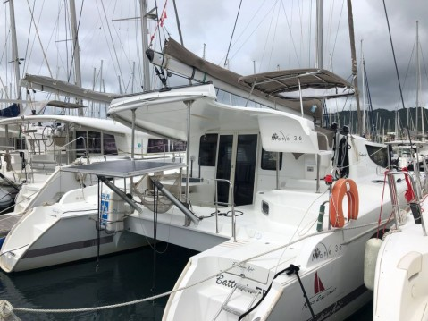 Fountaine Pajot Mahe 36 Evolution between personal and professional Le Marin