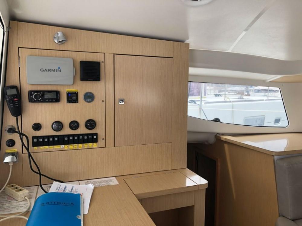 Boat rental Martinique cheap Mahe 36 Evolution