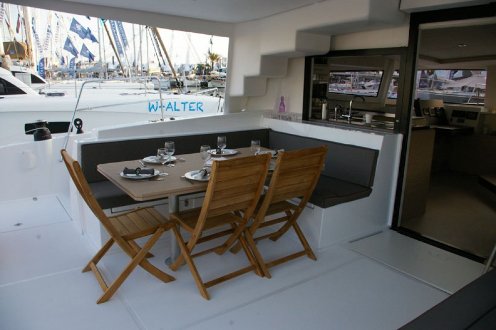 Hire Catamaran with or without skipper Catana Baie Sainte Anne
