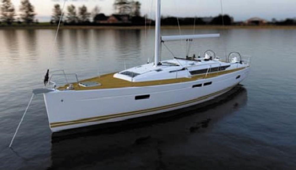 Rent a Jeanneau Sun Odyssey 469 Baie Sainte Anne