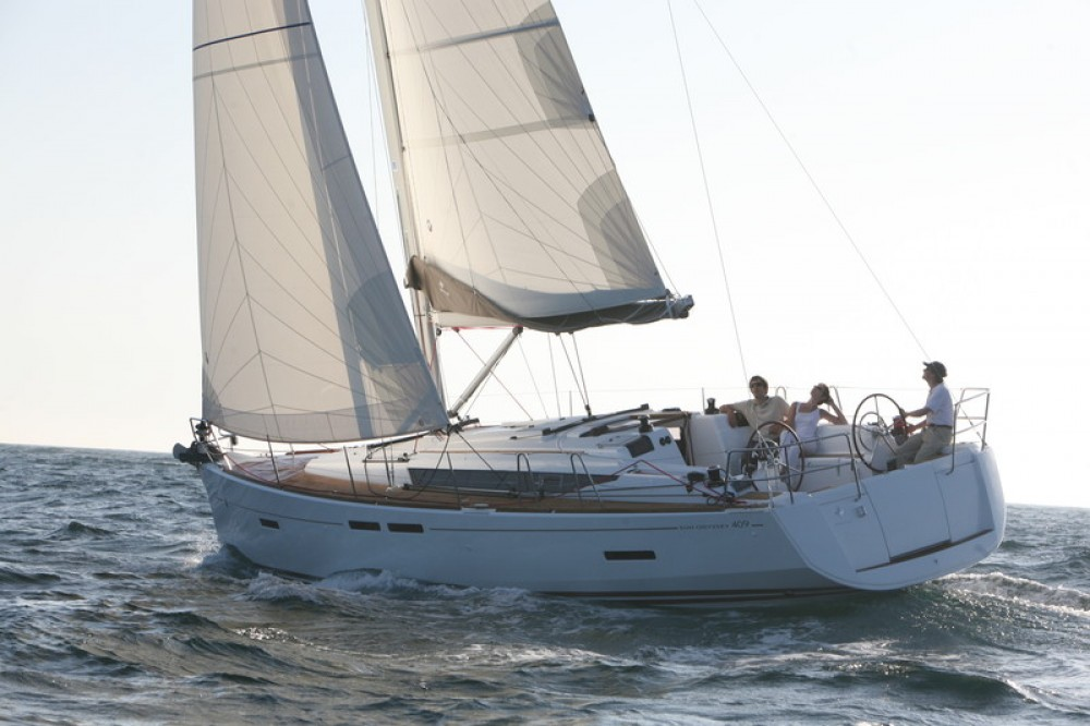 Rental yacht Baie Sainte Anne - Jeanneau Sun Odyssey 409 on SamBoat