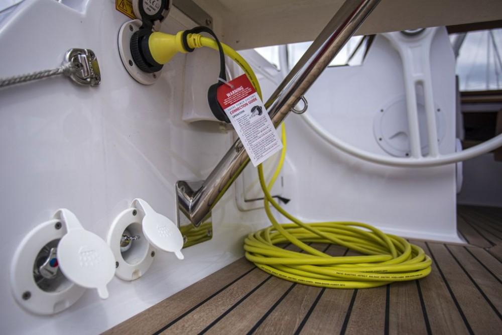 Boat rental Marina Trogir SCT cheap Elan 45 Impression