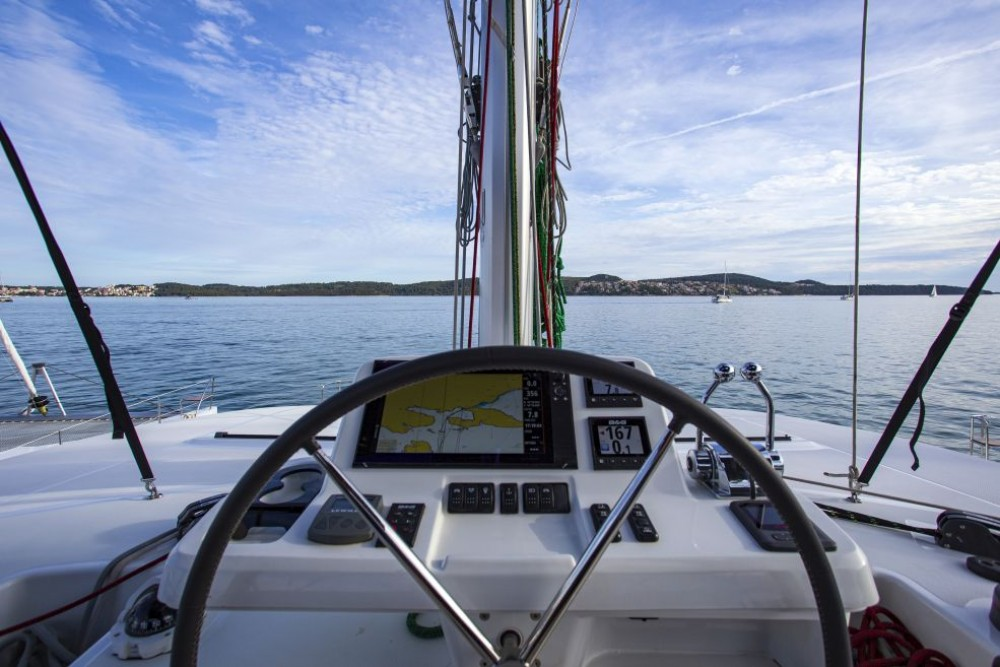 Boat rental Trogir cheap Lagoon 50