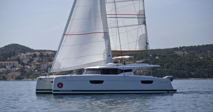 Rent a Fountaine Pajot Saona 47 Trogir