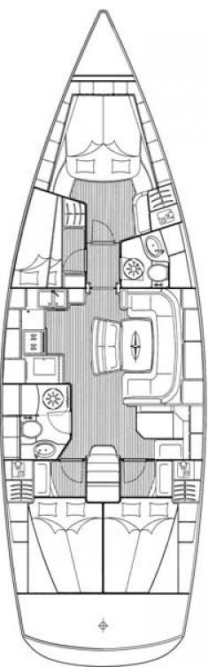 Rental Sailboat in Municipality of Kos - Bavaria Cruiser 46