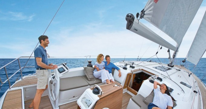 Bavaria Cruiser 51 between personal and professional Ionian Islands