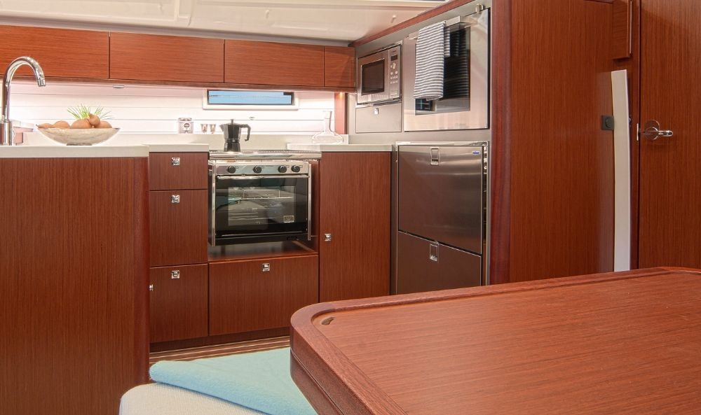 Bavaria Bavaria Cruiser 51 between personal and professional Ionian Islands