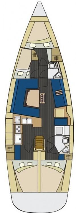 Boat rental  cheap Elan 444 Impression