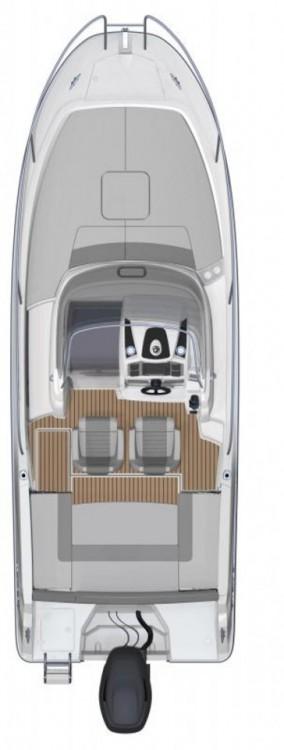 Rental yacht Grad Zadar - Jeanneau Cap Camarat 7.5 WA on SamBoat