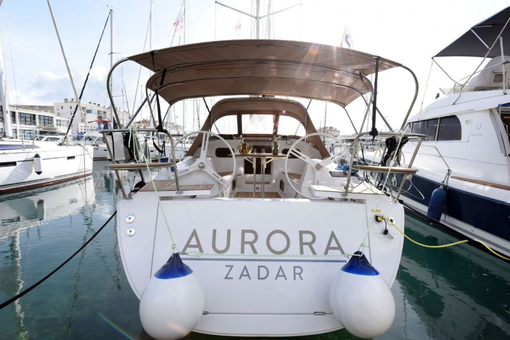 Boat rental Zadar cheap Elan Impression 35