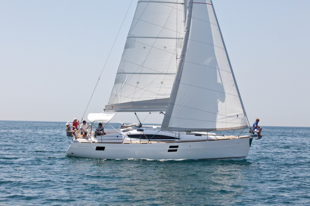 Rental Sailboat Elan with a permit