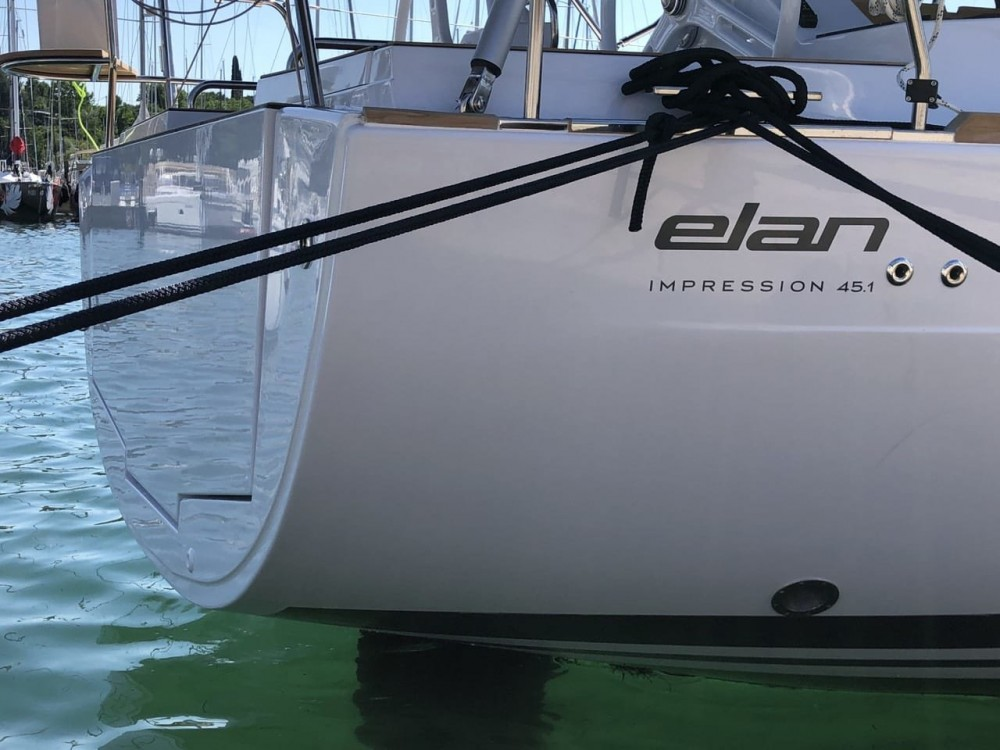 Rental Sailboat in Grad Zadar - Elan Elan Impression 45.1