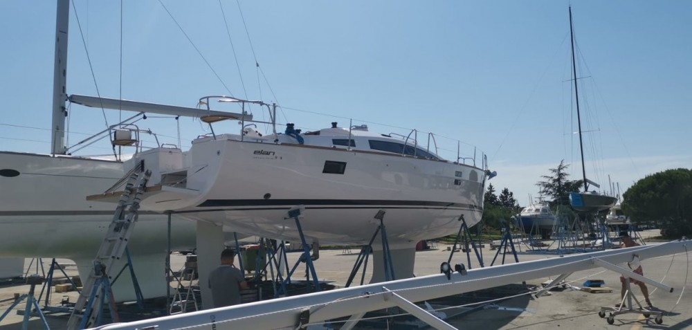 Rental yacht Grad Zadar - Elan Elan Impression 45.1 on SamBoat