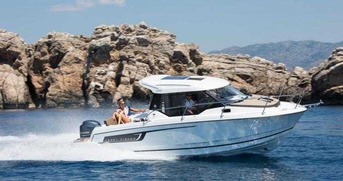 Rental Motorboat in Zadar - Jeanneau Merry Fisher 795