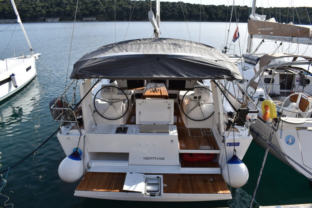 Dufour Dufour 520 GL between personal and professional Pula