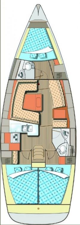 Boat rental Elan Elan Impression 40 in  on Samboat