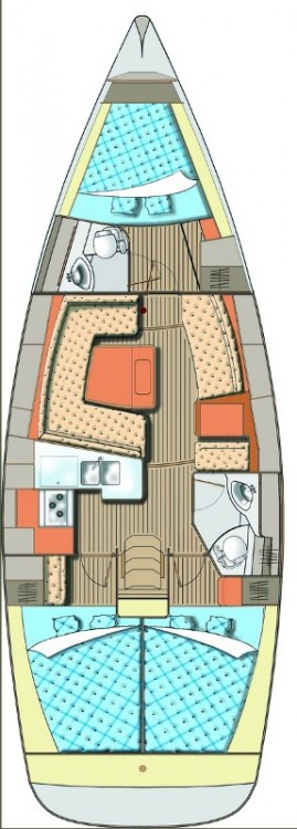 Rental yacht Primošten - Elan Elan Impression 40 on SamBoat