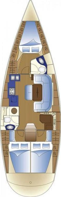 Boat rental Bavaria Cruiser 42 in Croatia on Samboat