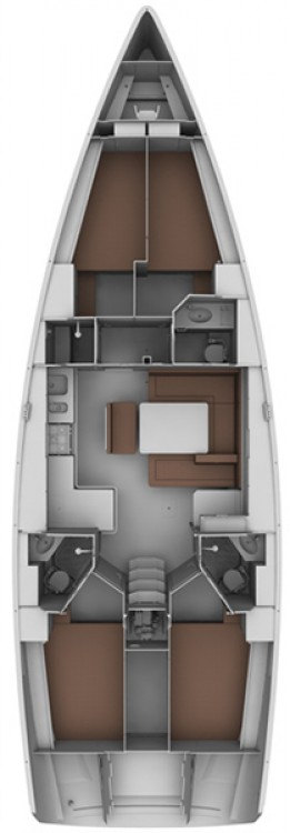 Boat rental Croacia cheap Cruiser 45
