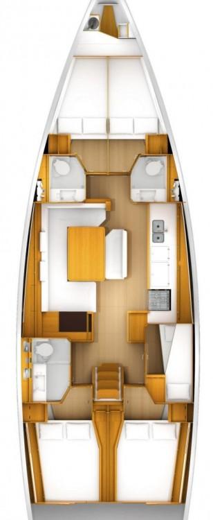 Rental yacht Croatia - Jeanneau Sun Odyssey 519 - 5 + 1 cab. on SamBoat