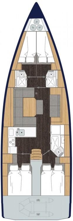 Rental Sailboat in Péloponnèse - Bavaria C 45