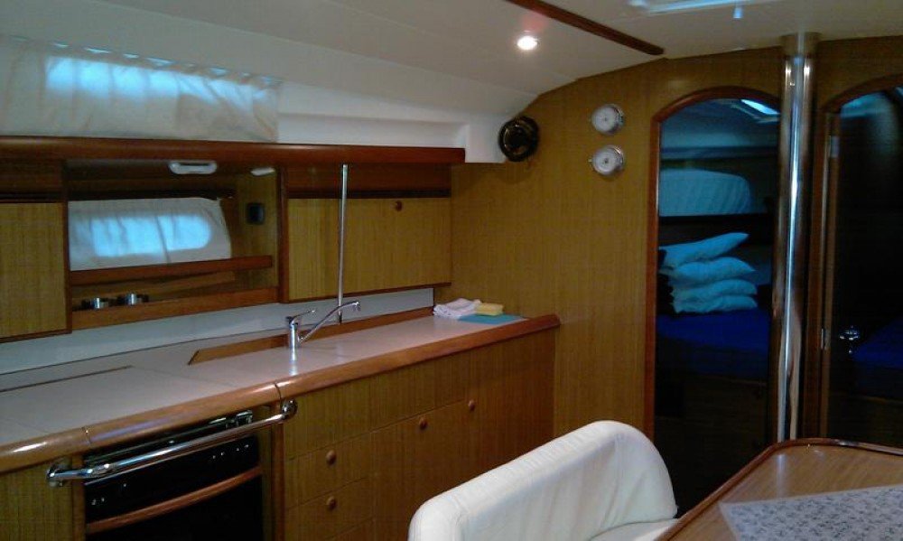Boat rental Jeanneau Sun Odyssey 45 in Peloponnese on Samboat