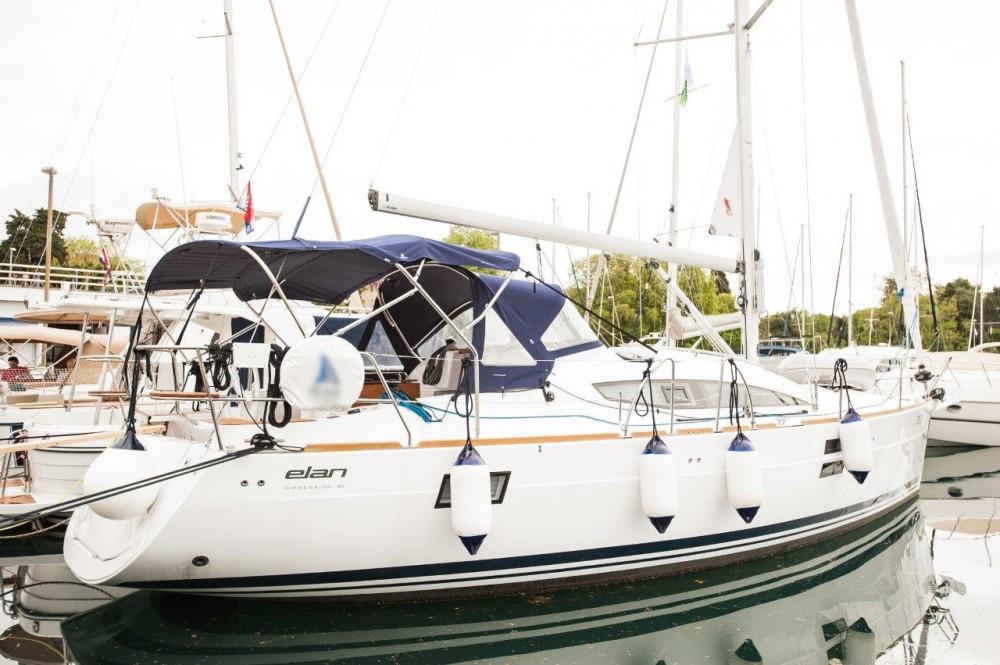 Rental Sailboat in  - Elan Elan Impression 40
