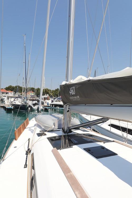 Boat rental Zadar cheap Dufour 460 GL - 5 cab.