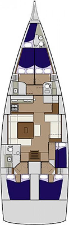 Boat rental Zadar cheap Dufour 560 Grand Large