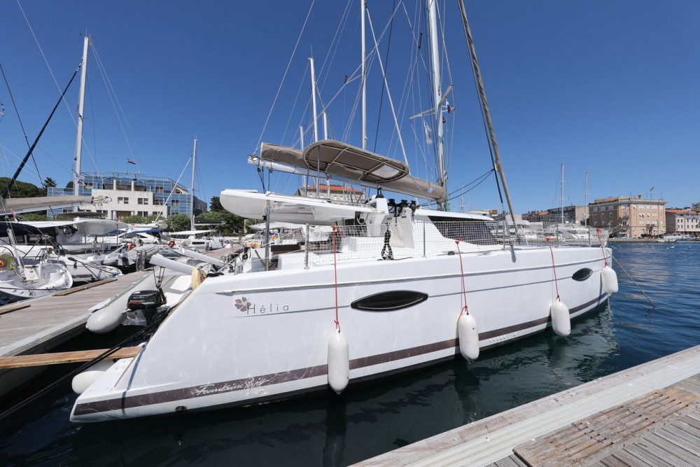 Fountaine Pajot Helia 44 between personal and professional Grad Zadar