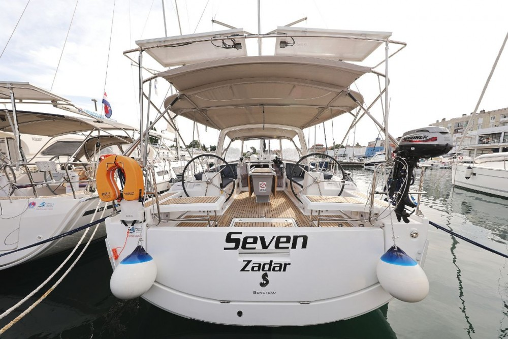 Rental Sailboat in Grad Zadar - Bénéteau Oceanis 41.1
