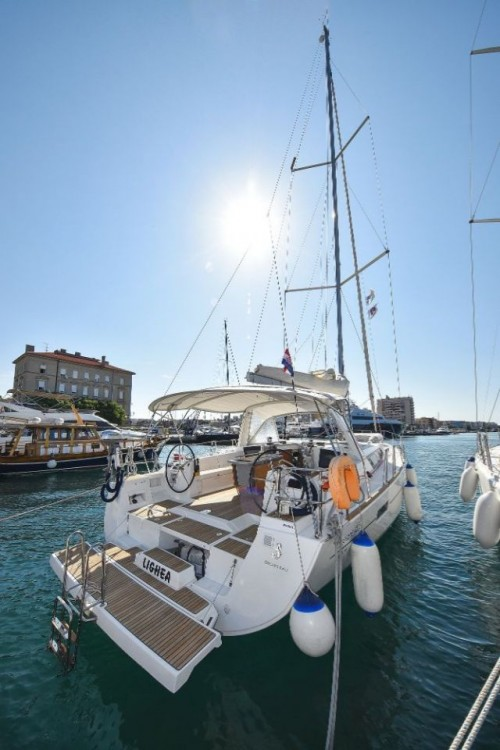 Bénéteau Oceanis 45 between personal and professional Grad Zadar