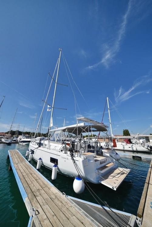 Rental Sailboat in Zadar - Bénéteau Oceanis 46.1 (4 cab)
