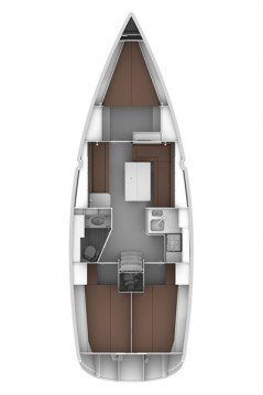 Bavaria Cruiser 36 between personal and professional Biograd na Moru