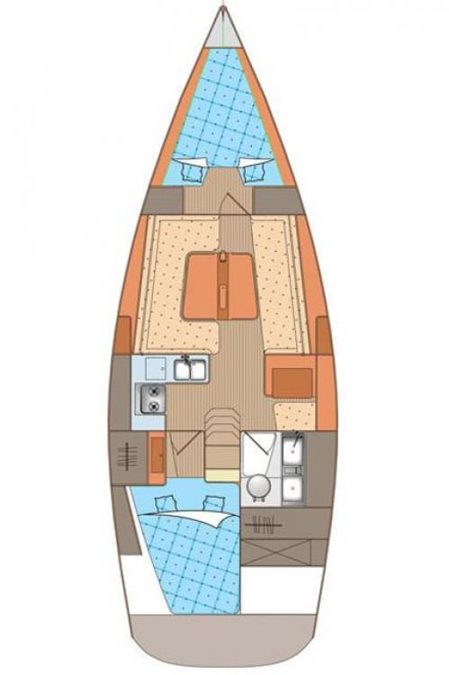 Rental yacht Croatia - Elan Elan 340 on SamBoat