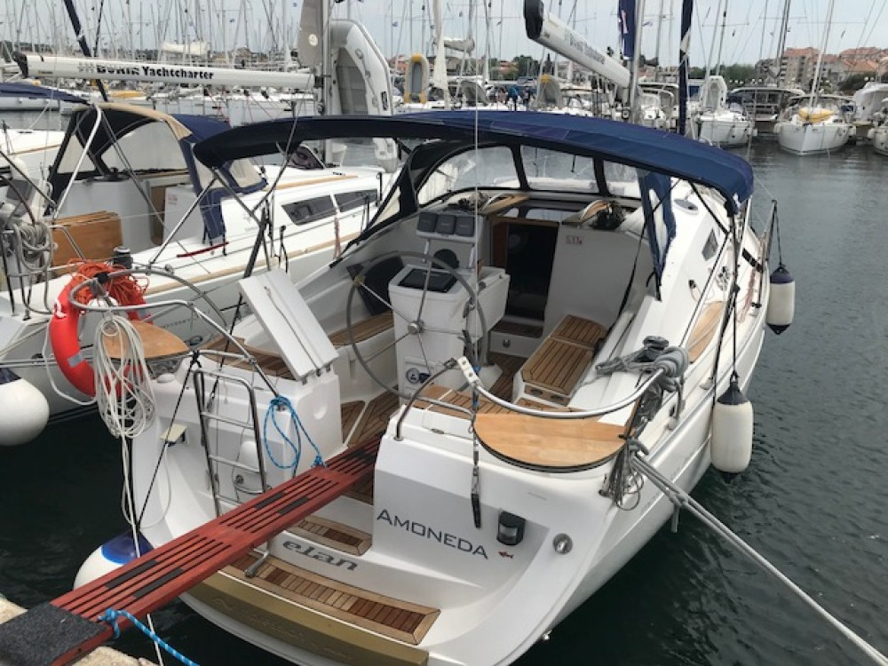 Boat rental Croatia cheap Elan 344 Impression