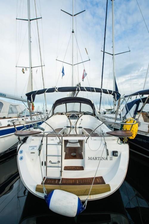 Boat rental Croatia cheap Elan 34