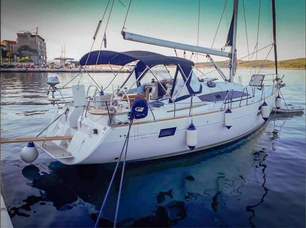 Rental Sailboat in Croatia - Elan Elan 444 Impression