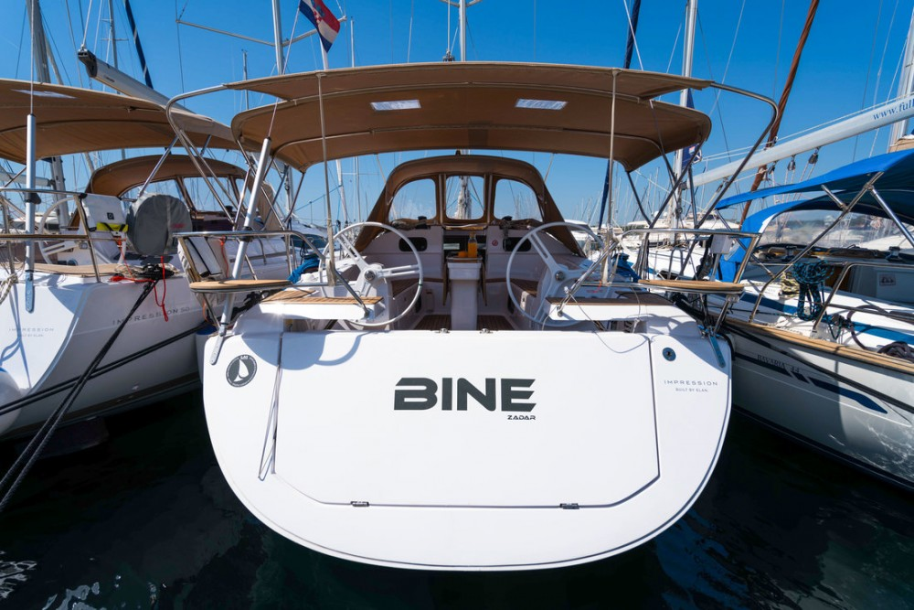 Boat rental Croatia cheap Elan Impression 45