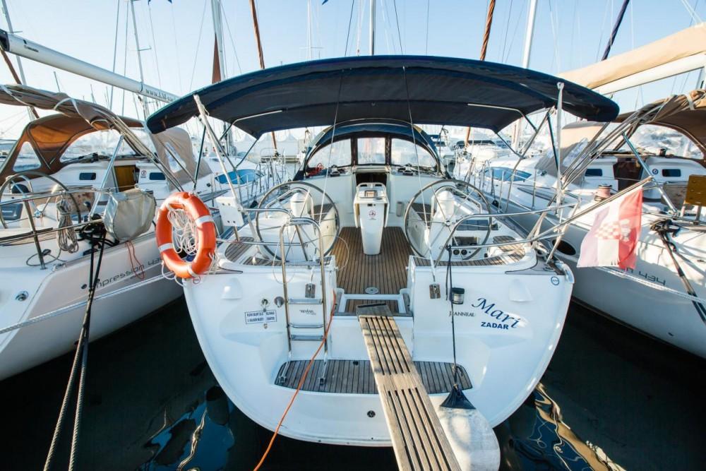 Boat rental Croatia cheap Sun Odyssey 43