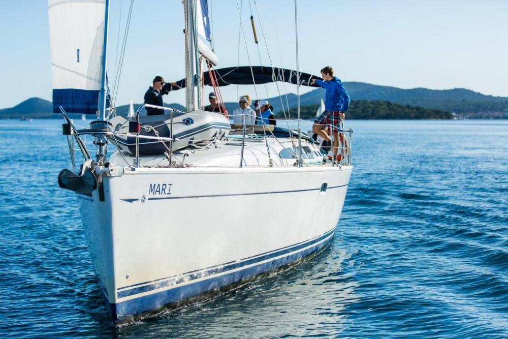 Jeanneau Sun Odyssey 43 between personal and professional Croatia