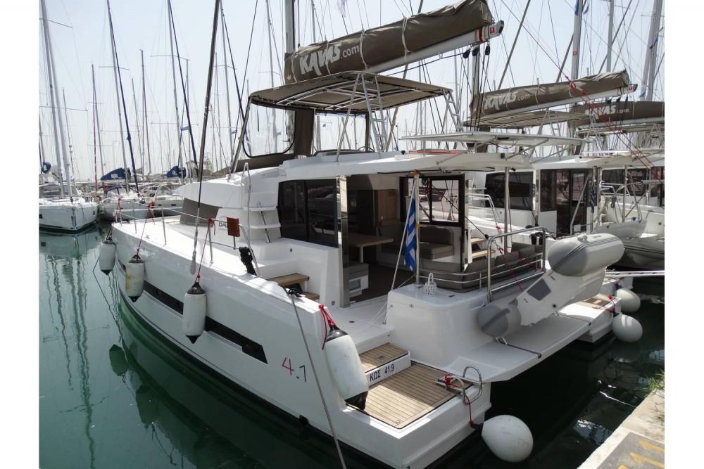 Boat rental Catana Bali 4.1 - 4 + 2 cab. in Peloponnese on Samboat