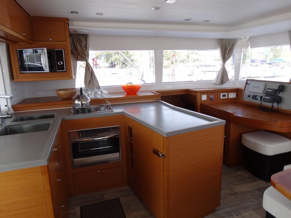 Boat rental Peloponnese cheap Lagoon 450