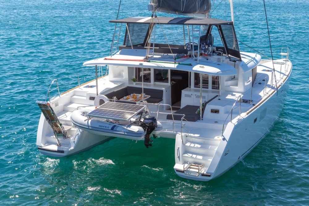Boat rental Ionian Islands cheap Lagoon 450 F - 4 + 2 cab.