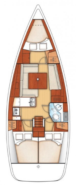 Boat rental Lefkada cheap Oceanis 37