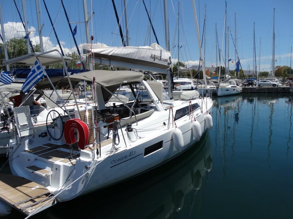 Rental Sailboat in Peloponnese - Bénéteau Oceanis 41.1